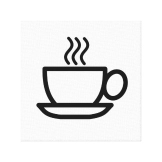 Cup of coffee canvas artistic print gallery wrap canvas