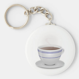 Cup of Coffee Key Ring