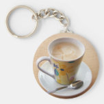 cup of coffee keychains