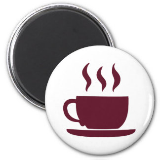 Cup of coffee magnet