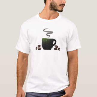 Cup of Coffee with Beans T-Shirt