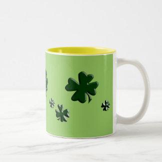 Cup of Gold Two-Tone Coffee Mug