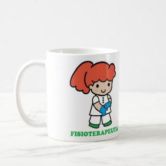 Cup of small physiotherapist