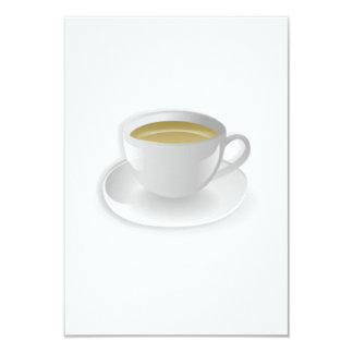 Cup of Tea 9 Cm X 13 Cm Invitation Card