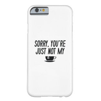 Cup Of Tea Barely There iPhone 6 Case