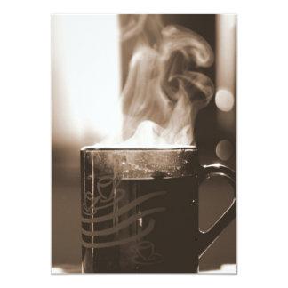 Cup of Tea 13 Cm X 18 Cm Invitation Card
