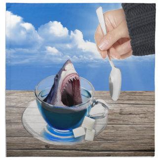 Cup of tea napkin