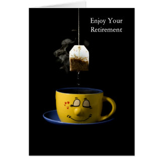 Cup of Tea Retirement Card Greeting Cards