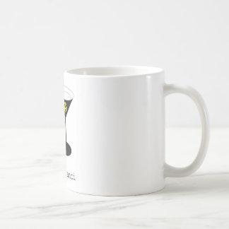 Cup poison basic white mug