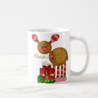 Cup-Rudolph the Red Nose Reindeer Basic White Mug