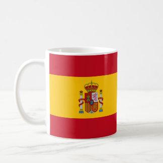cup Spanish flag
