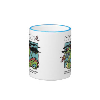 Cup the Chinese Zodiac - Dragoon Ringer Mug