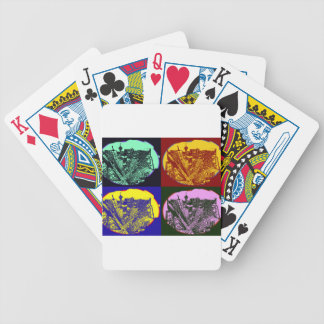 cup - town center 3 POINT perspective pop kind Bicycle Playing Cards