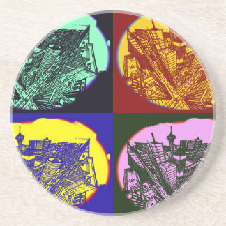 cup - town center 3 POINT perspective pop kind Coaster