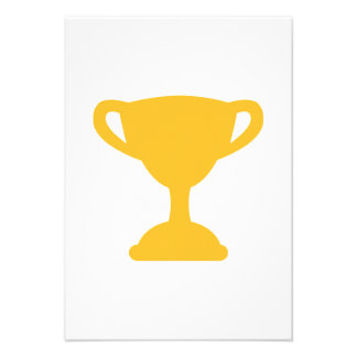 Cup trophy champion custom invitations