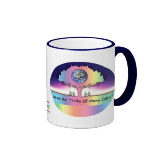 "Cup various ~ ""Tribe OF Many Colors "" Coffee Mug"