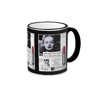 Cup-Vintage Lipstick Advertisement Coffee Mugs