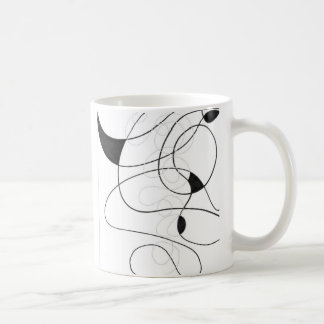 Cup with abstract LINEs