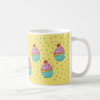 Cup with Cupcake, Muffin Design