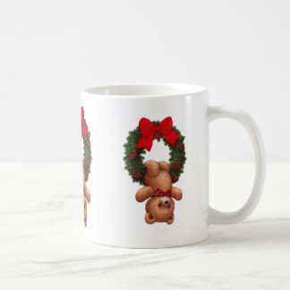 Cup with osito of Christmas