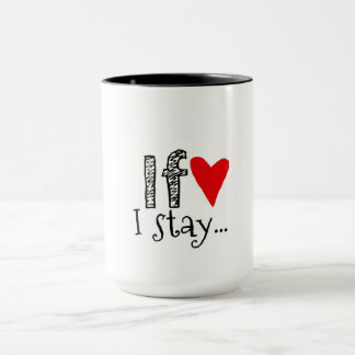 Cup with Romantic Message