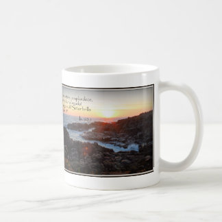Cup with versicle of the bible