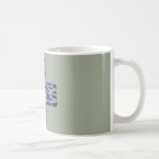 Cup with vet cross