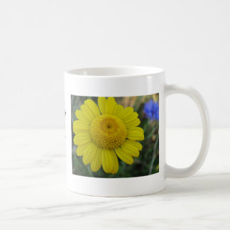Cup yellow daisy: have A nice day Coffee Mugs