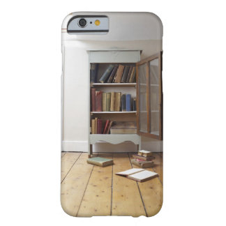 Cupboard full of books. barely there iPhone 6 case