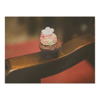 Cupcake 17 Cm X 22 Cm Invitation Card
