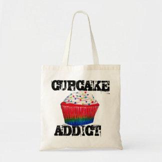 Cupcake Addict Budget Tote Bag