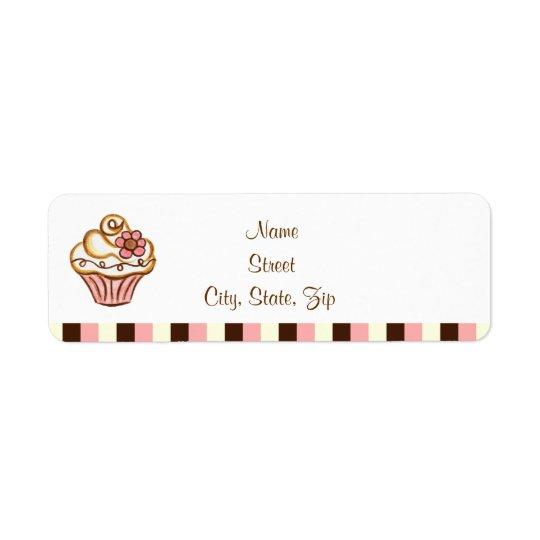Cupcake  Address Labels