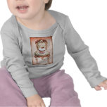 Cupcake and Chair Vintage Style Infant Tee Shirt