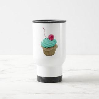 Cupcake and Cherry Coffee Mugs