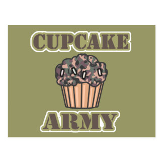 Cupcake Army Post Cards