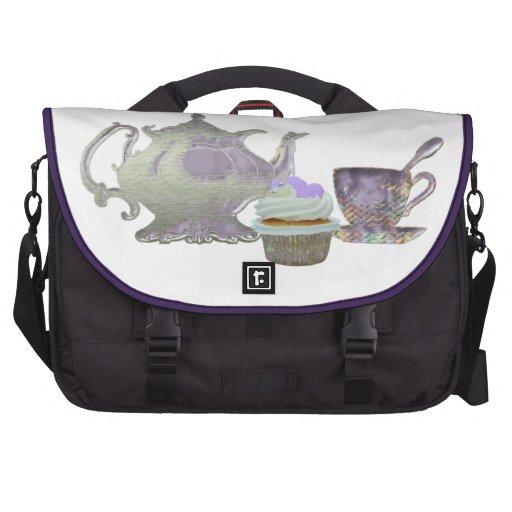 Cupcake art Messenger Bags Laptop Bag