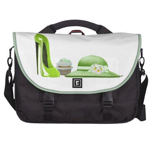 Cupcake art Messenger Bags Laptop Shoulder Bag