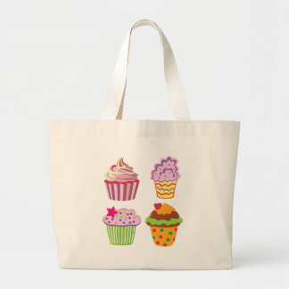 Cupcake Canvas Bags