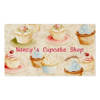 Cupcake Baker's Business Card