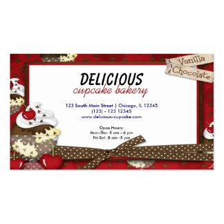 Cupcake Bakery Business Card Templates