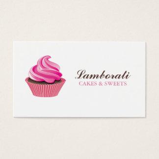 Cupcake Bakery Pink Elegant Modern Cute
