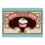 Cupcake Banner Victorian Style