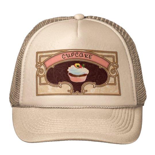 Cupcake Banner Victorian Style Cap