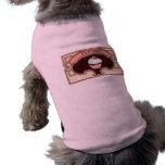 Cupcake Banner Victorian Style Pet Tshirt