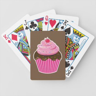Cupcake Bicycle Playing Cards