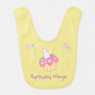 Cupcake Birthday Bib