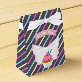 Cupcake Birthday Party Guest Favor Favour Box