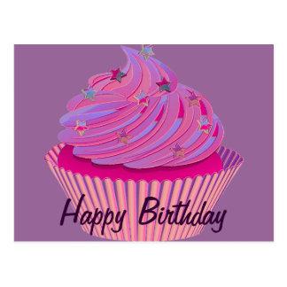 Cupcake Birthday Postcard