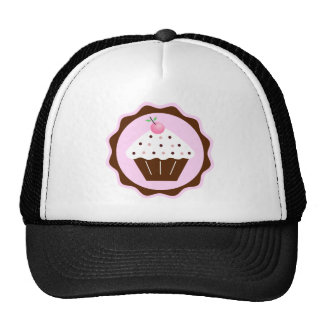 CUPCAKE BROWN & PINK CAP