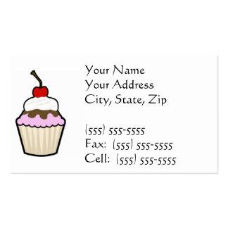 Cupcake Business Card Templates